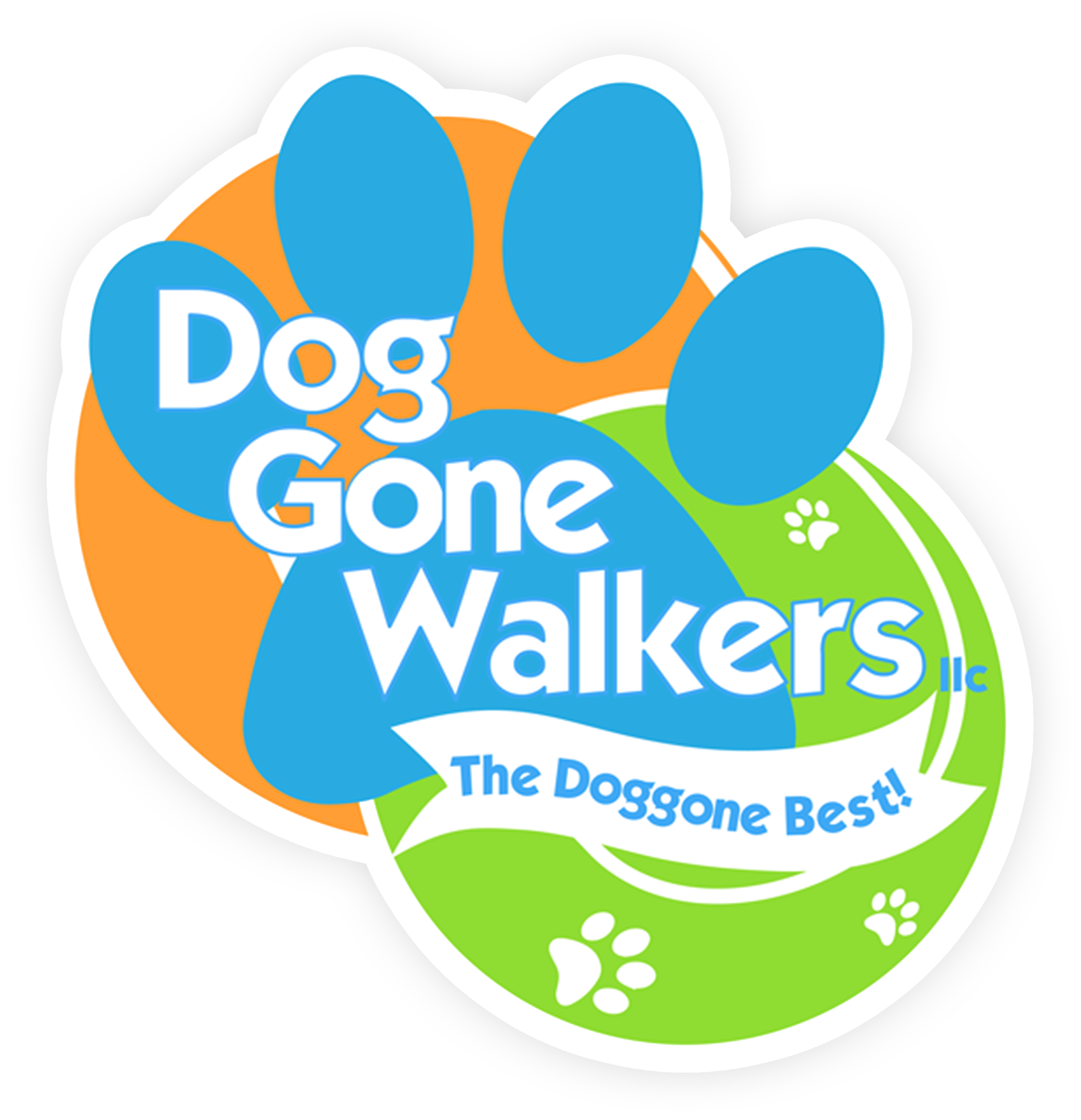 Dog Gone Walker Logo
